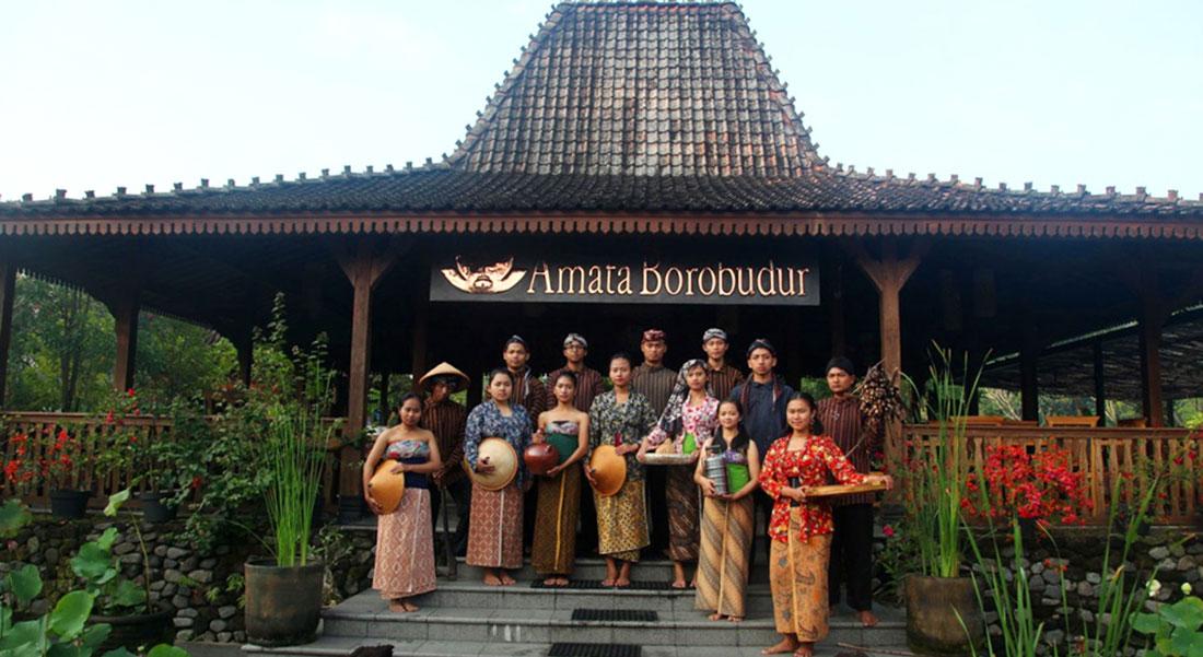 Menikmati Kenyamanan Menginap di Amata Borobudur Resort